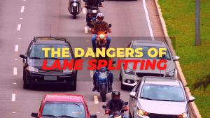 What is lane splitting and is it dangerous?