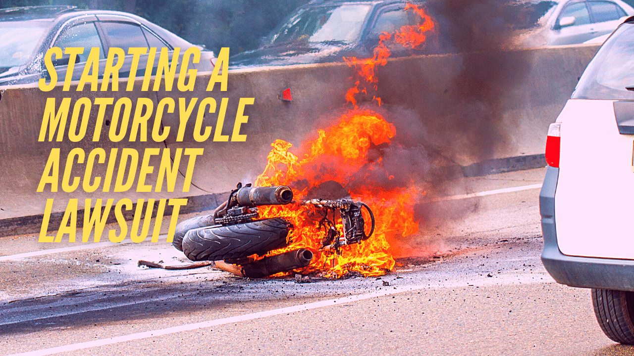 How to build a motorcycle accident lawsuit