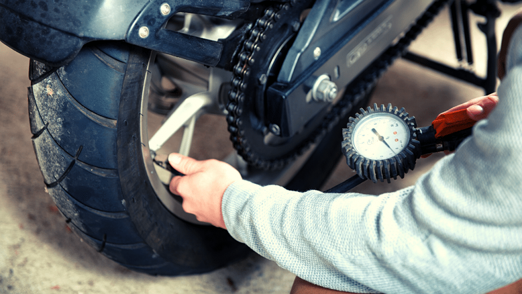 Prevnt Motorcycle Tire Cupping